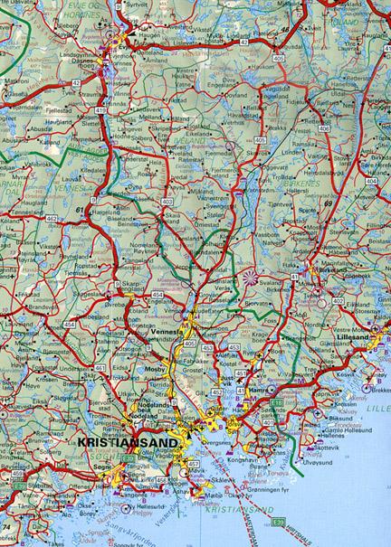 kart sørlandet Kart kart sørlandet